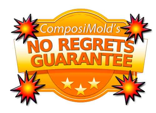 Order your Molding Materials without worry, without regrets
